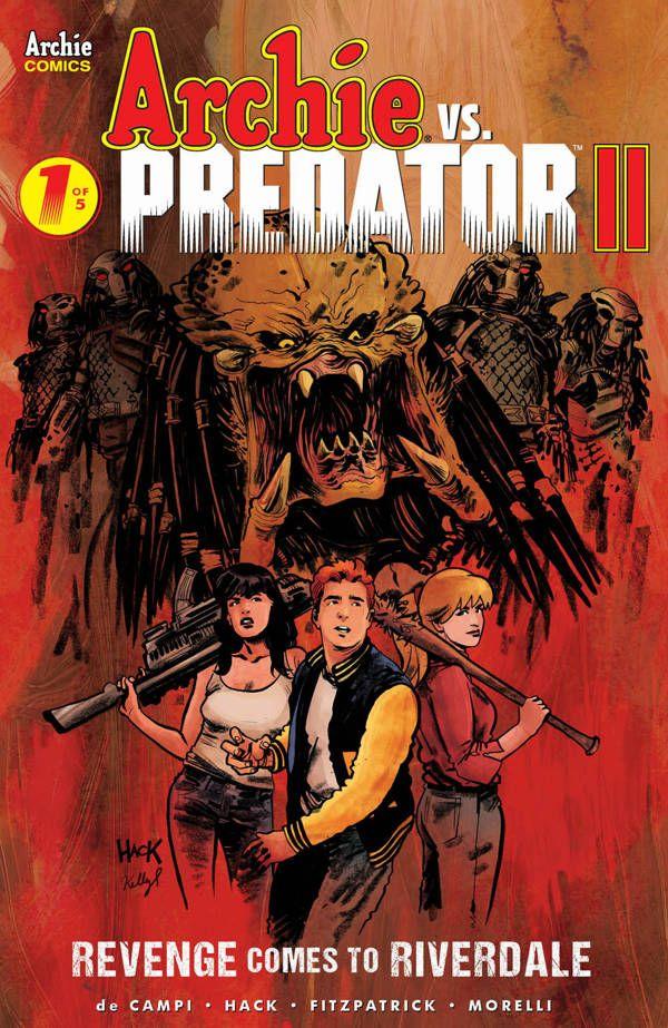 Archie Vs Predator Ii 1 00