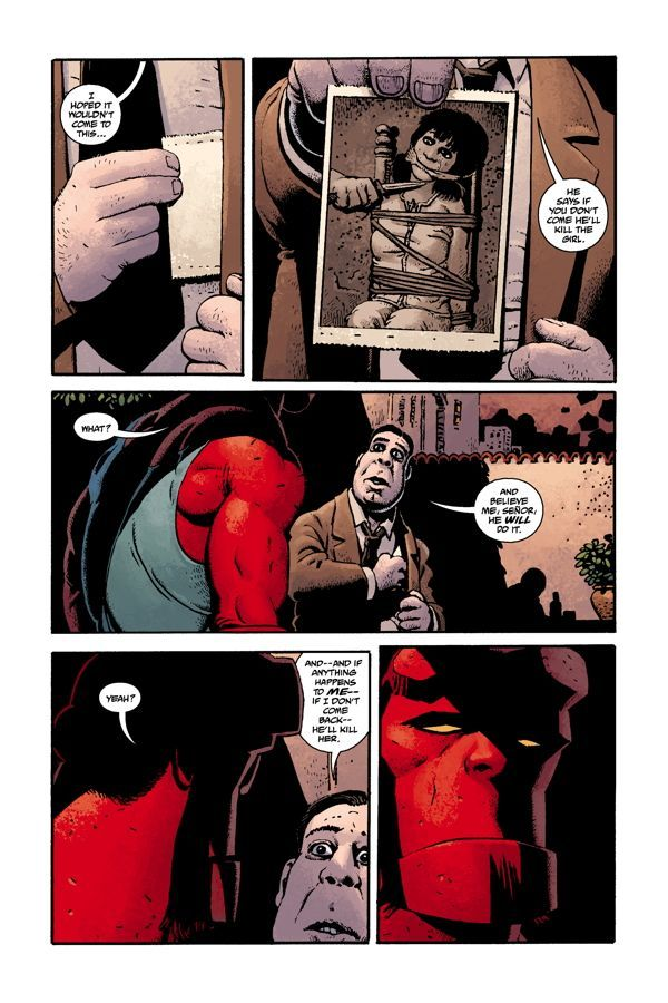 Hellboy House Of The Living Dead 03