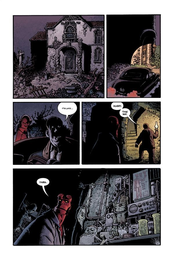 Hellboy House Of The Living Dead 05