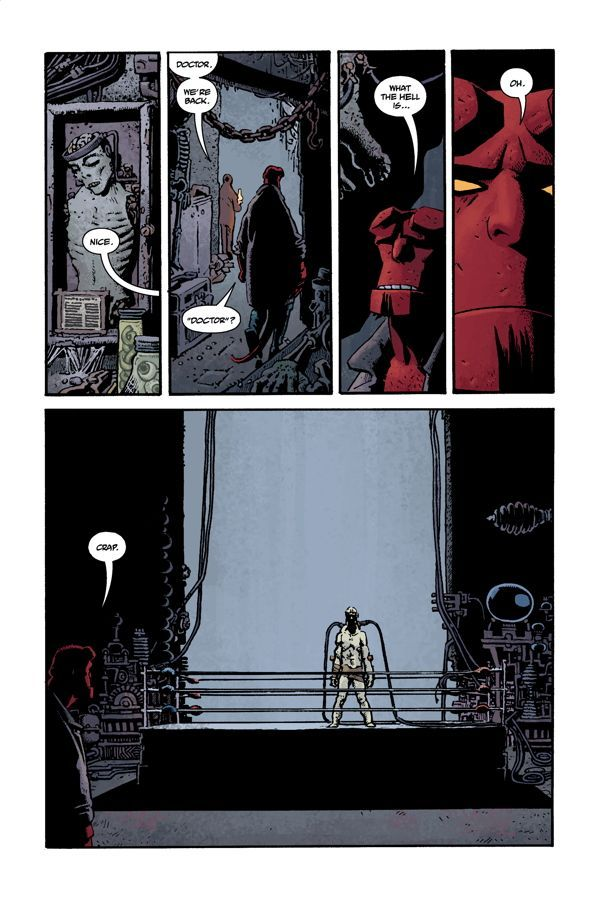 Hellboy House Of The Living Dead 06