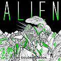 Alien The Coloring Book Cover