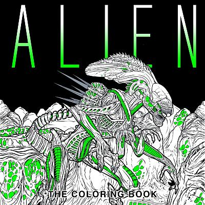 Alien The Coloring Book Poster