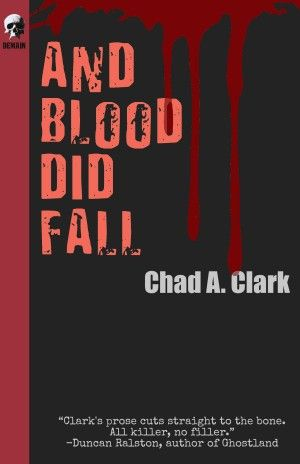 And Blood Did Fall Chad A Clark Poster Large