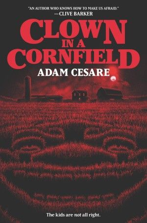 Clown In A Cornfield Adam Cesare Poster Large