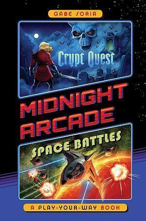 Crypt Quest Space Battles A Play Your Way Book Poster