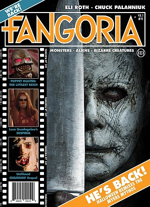 Fangoria Magazine Volume 02 Issue 01 Poster