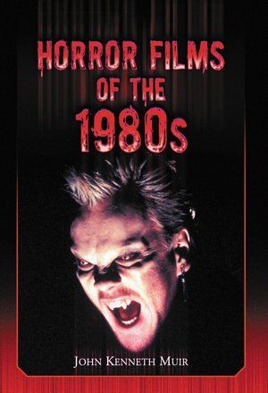 horror films of the 1980s poster