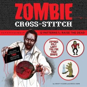 Zombie Cross Stitch Kristy Kizzee Erika Kern Large