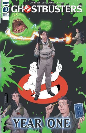 Ghostbusters Year One 3 Large
