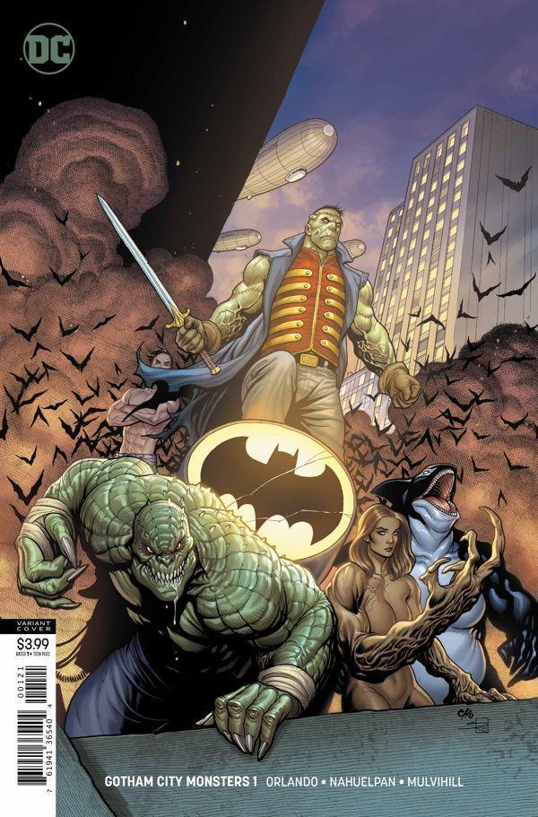 Gotham City Monsters 1 01