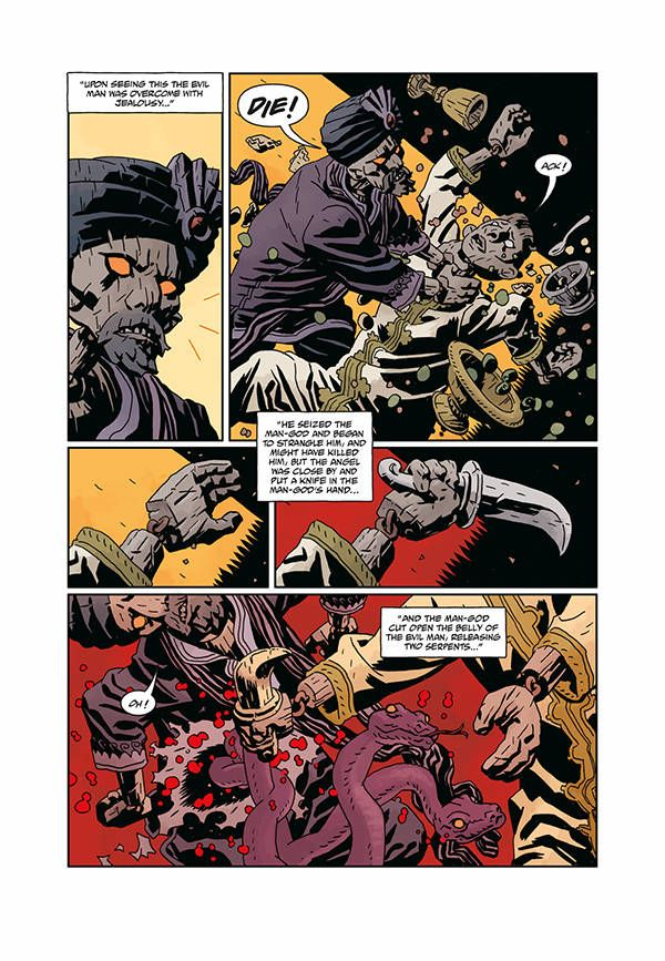 Hellboy Bprd Beast Vargu 06