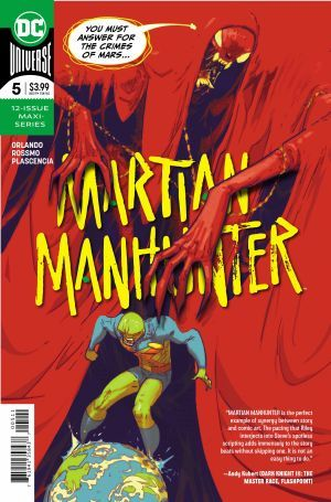 Martian Manhunter 5 00