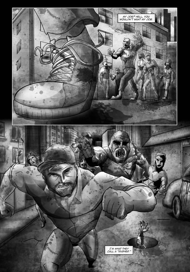 Zombie Rush Riot 1 01