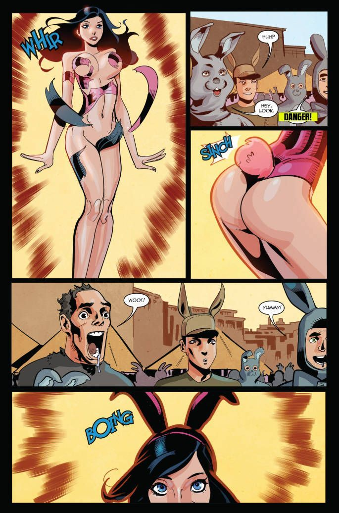 Zombie Tramp Easter Special 04