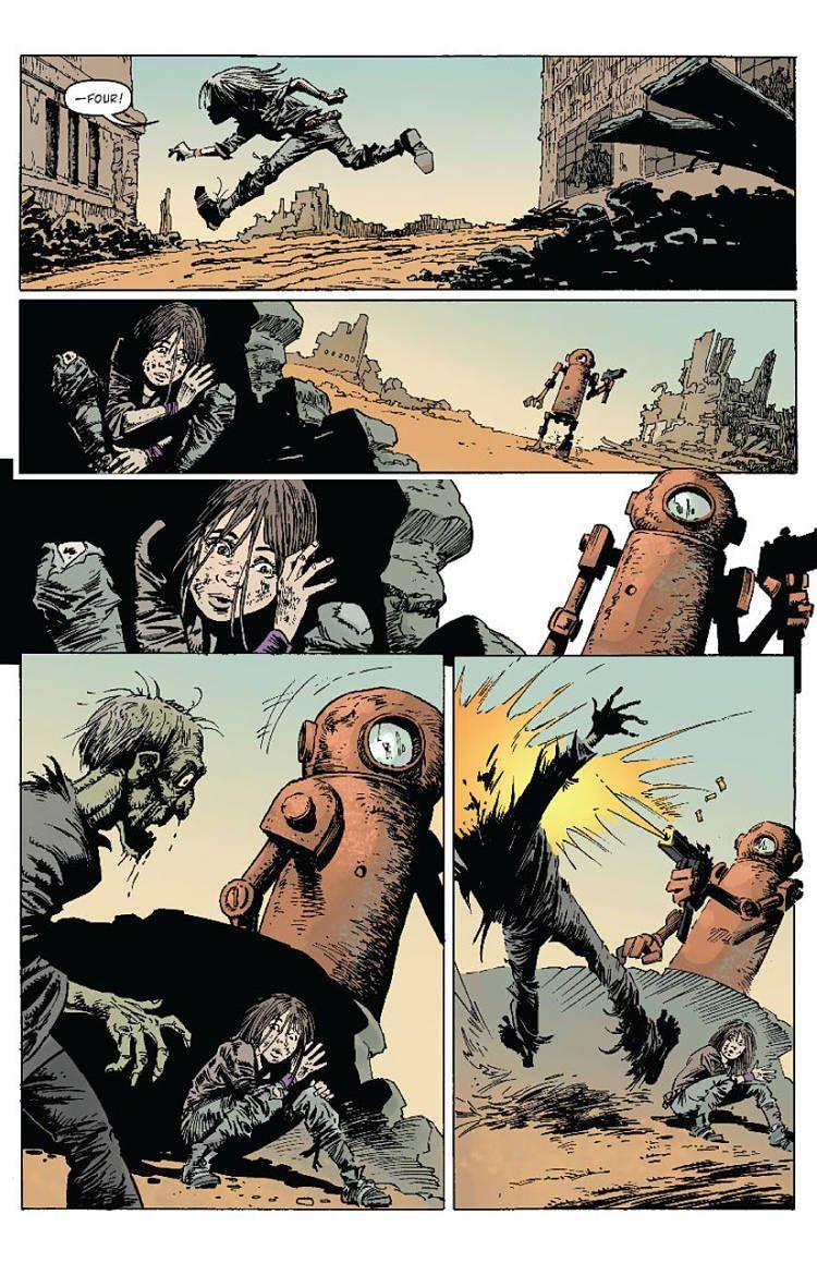 Zombies Vs Robots 1 05