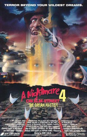A Nightmare On Elm Street 4 Dream Master Poster