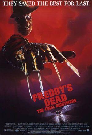 Freddys Dead The Final Nightmare Poster