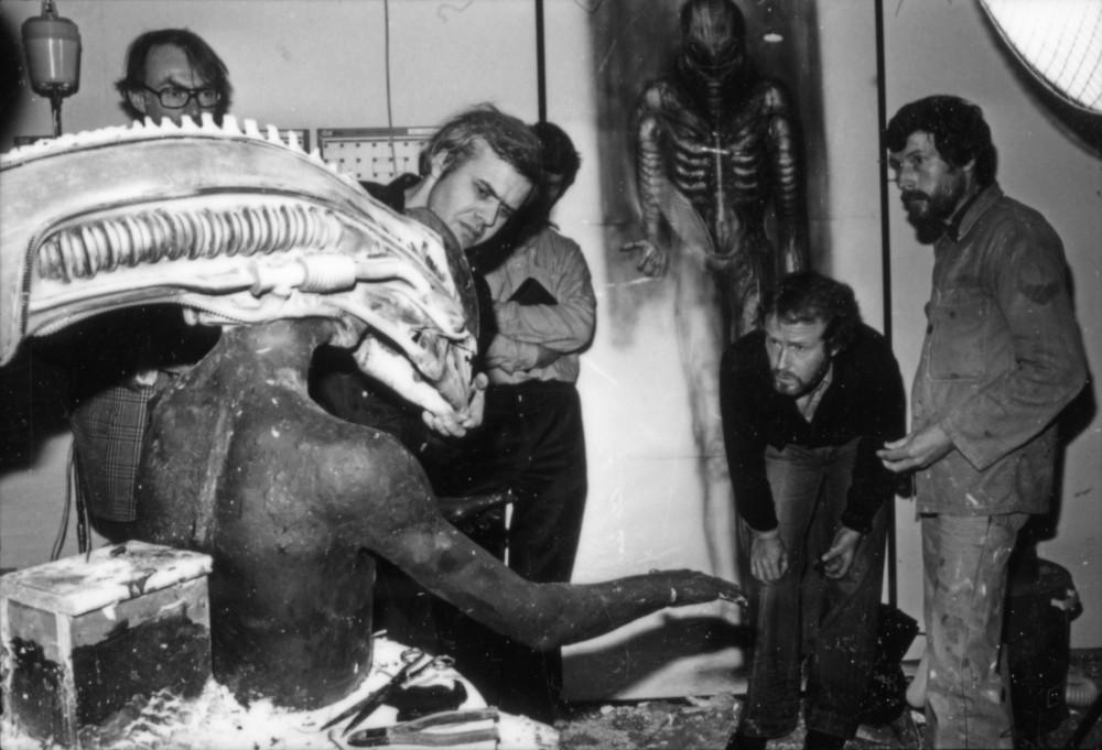 Hr Giger Alien On Set 03