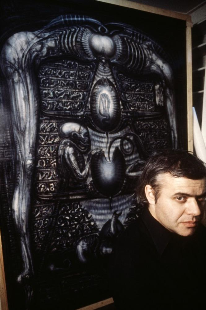 Hr Giger Alien On Set 08