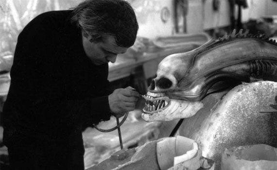 Hr Giger Alien On Set 10
