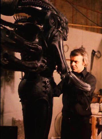 Hr Giger Alien On Set 11