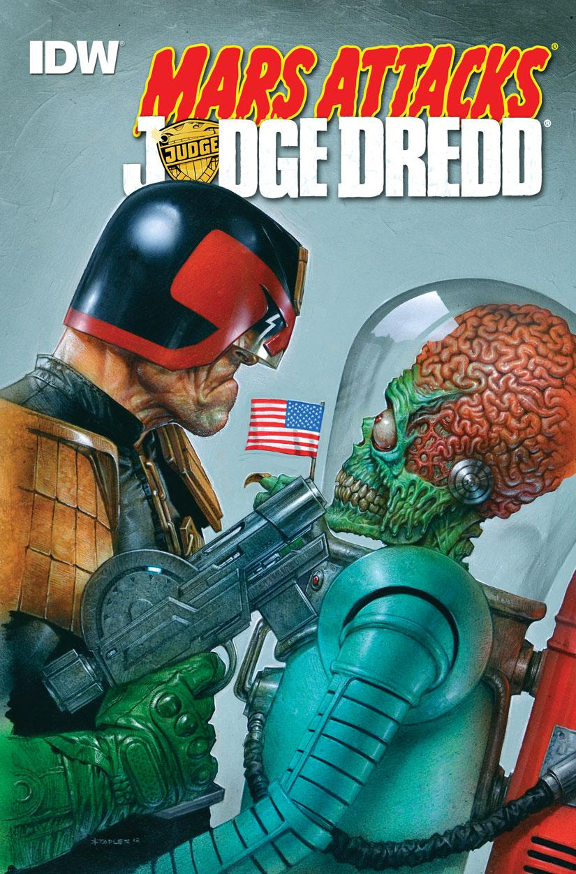 Mars Attacks Judge Dredd 01