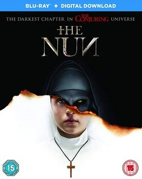 The Nun Blu Ray Cover