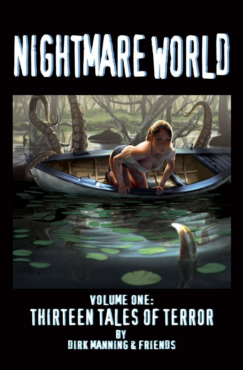 Nightmare World: Volume 1 - Tales of Terror cover.