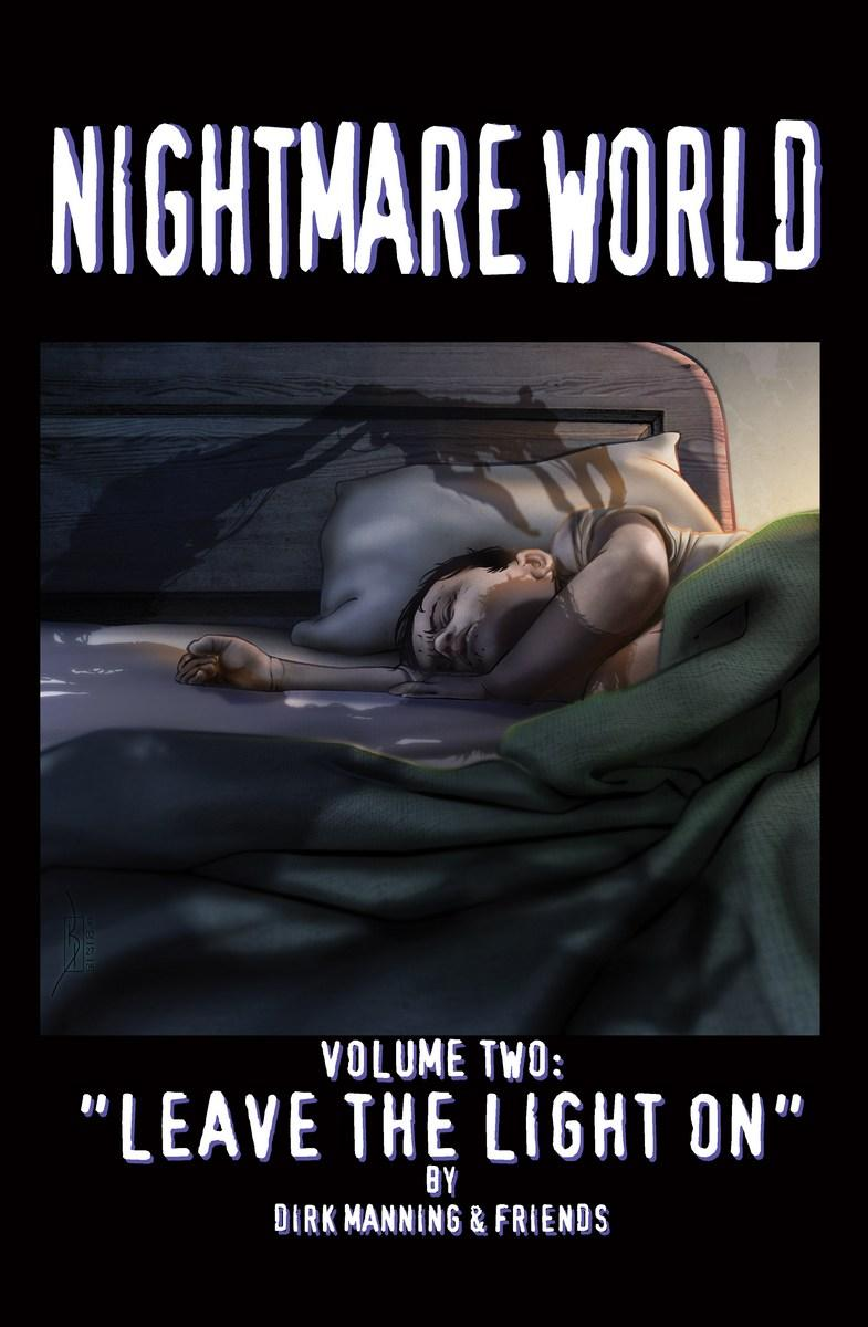 Nightmare World: Volume 2 - Leave the Light On cover.