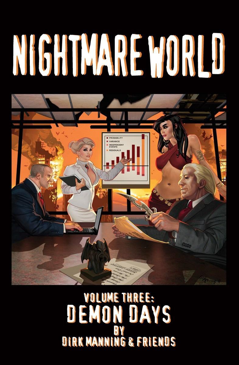 Nightmare World: Volume 3 - Demon Days cover.