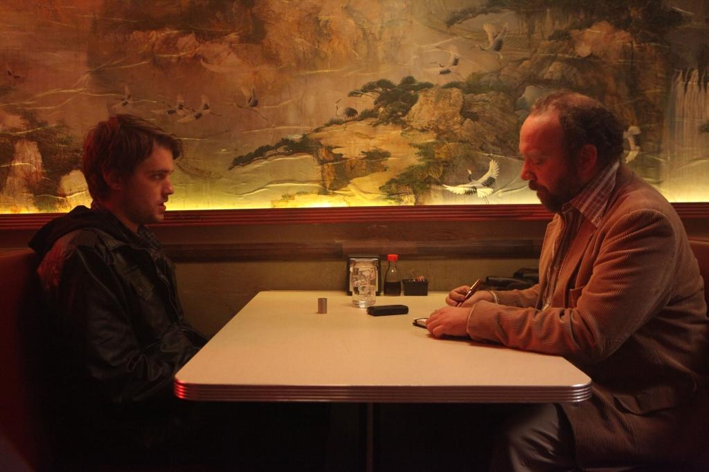 Chase Williamson and Paul Giamatti in JOHN DIES AT THE END. (Magnet Releasing)