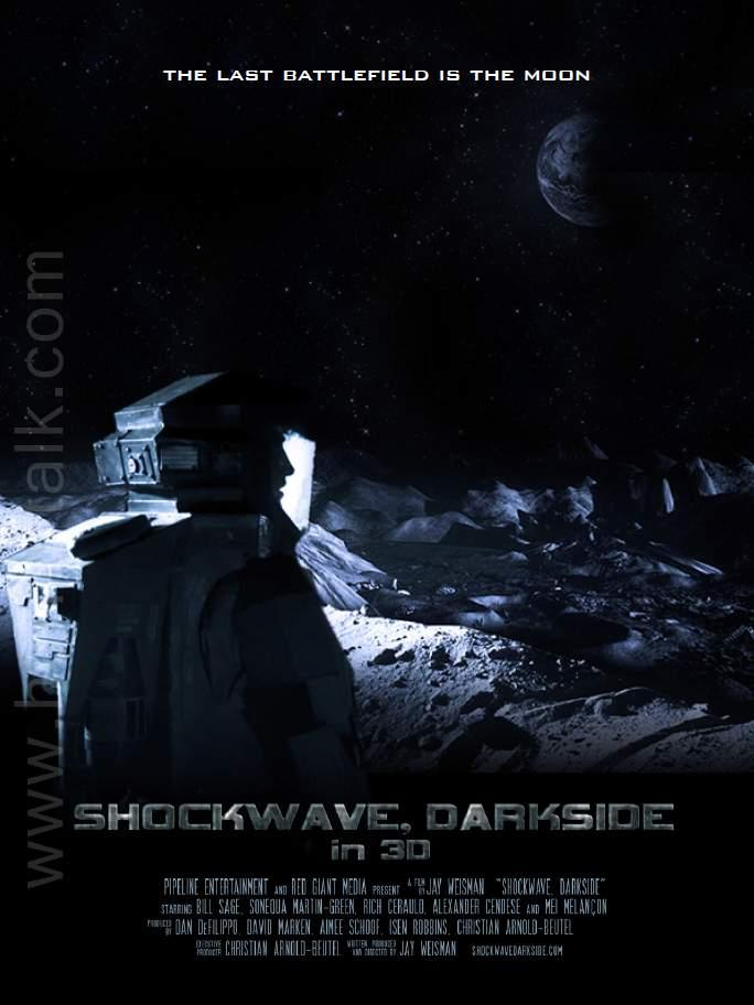 Shockwave Darkside 3d Poster