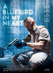 a blue bird in my heart poster