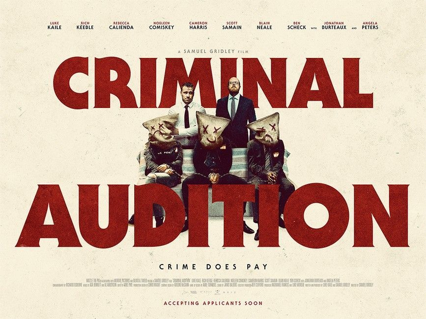 Criminal Audition Poster Large