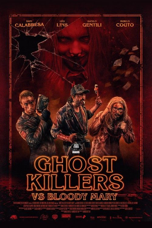 Ghost Killers Vs Bloody Mary Poster Large