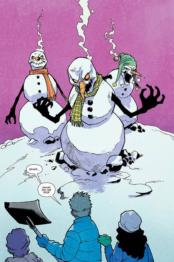 House Of Fear Snowman 03