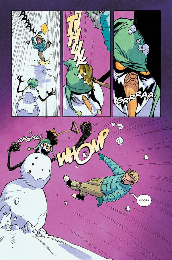 House Of Fear Snowman 06