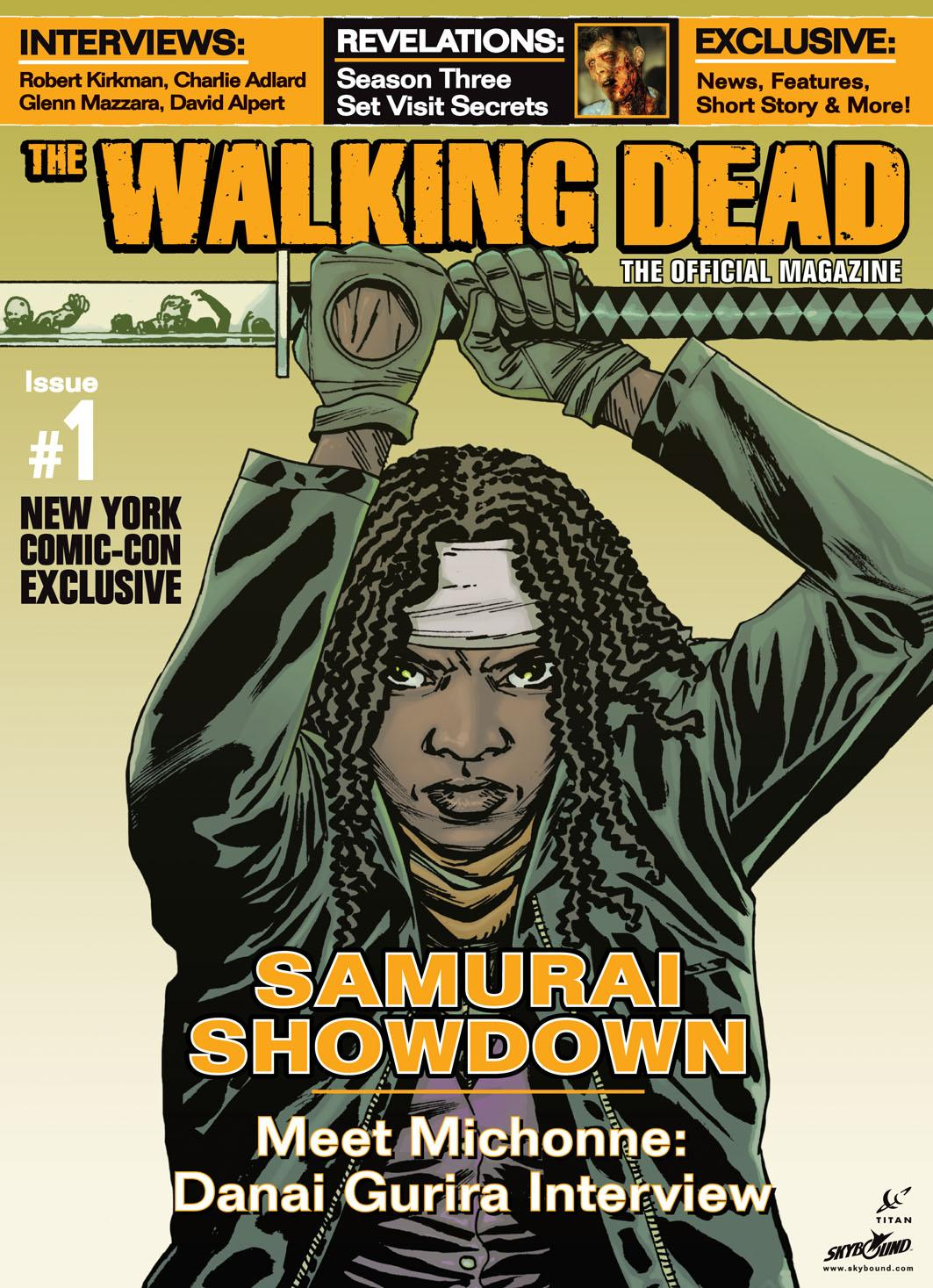 The Walking Dead The Official Magazine 01