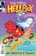 Itty Bitty Hellboy 2 Cover