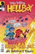 Itty Bitty Hellboy 3 Cover