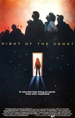 Night Of The Comet Poster Large