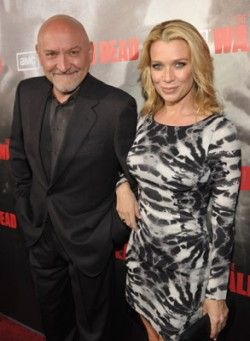 Frank Darabont and Laurie Holden.