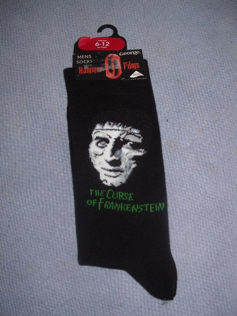 Christopher Lee Socks
