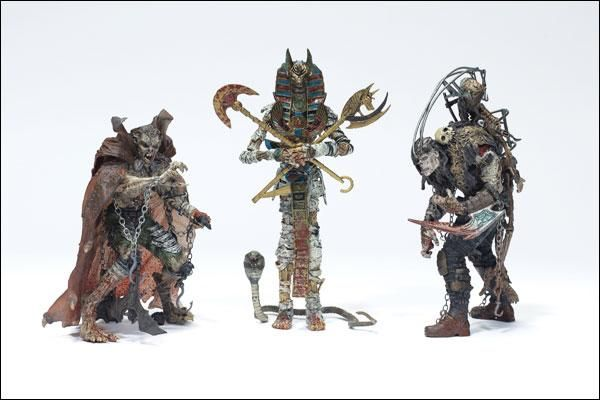 Mcfarlane Monsters 3 Pack