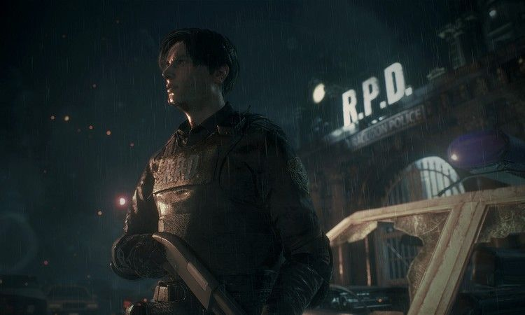 Resident Evil 2 One Shot Demo Slider