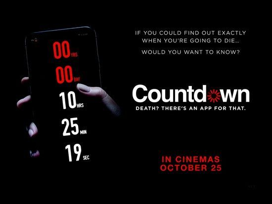 Countdown Quad Poster Large