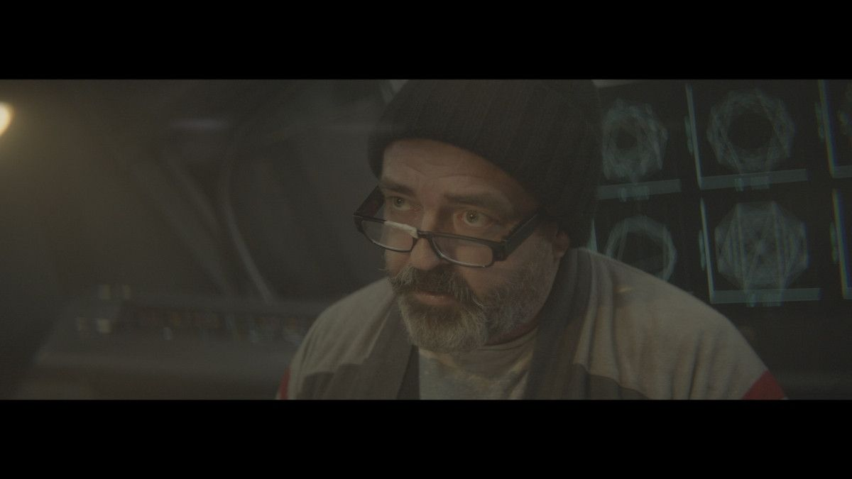 "=Angus Macfadyen as Dr. Richard Valin in the sci-fi film, ""3022,"" a Saban Films release. Photo courtesy of Saban Films."