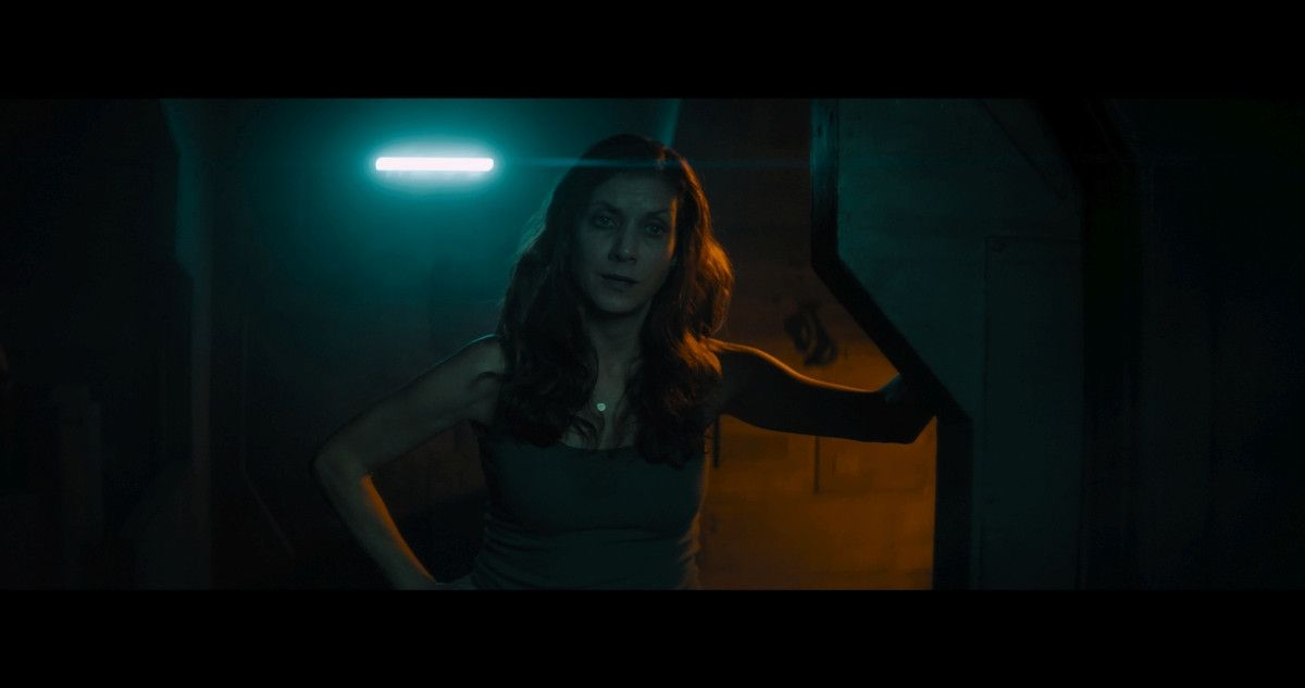 "=Kate Walsh as Jackie Miller in the sci-fi film, ""3022,"" a Saban Films release. Photo courtesy of Saban Films."