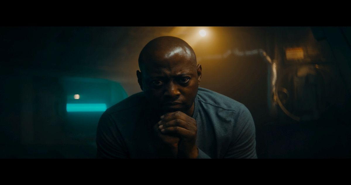"=Omar Epps as John Laine in the sci-fi film, ""3022,"" a Saban Films release. Photo courtesy of Saban Films."