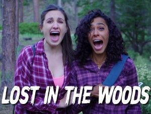 Lost In The Woods Poster Large